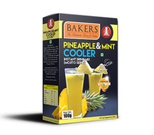 PINEAPPLE & MINT COOLER Instant Drink Mix ( Mojito Series) 100g Box
